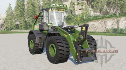 New Holland W190D with forestry cage for Farming Simulator 2017