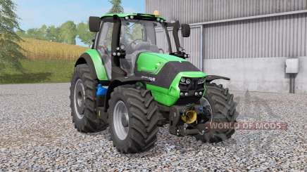 Deutz-Fahr 6190 TTV Agrotroɲ for Farming Simulator 2017