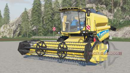 New Holland TC5.90 with some config for Farming Simulator 2017