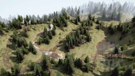 Mountain creeks for MudRunner