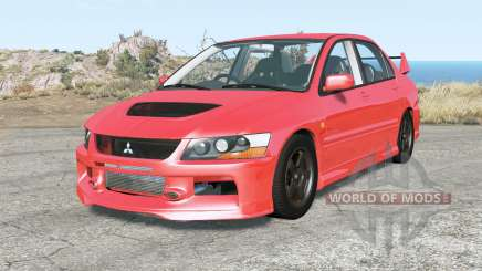 Mitsubishi Lancer Evolution IX 2007 for BeamNG Drive