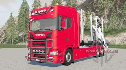 Scania S 730 timber trucƙ for Farming Simulator 2017