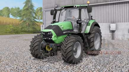 Deutz-Fahr 6190 TTV Agrotroᵰ for Farming Simulator 2017