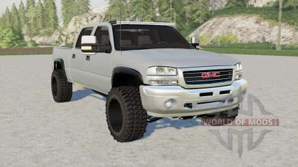 GMC Sierra 2500 Crew Cab 2004 for Farming Simulator 2017