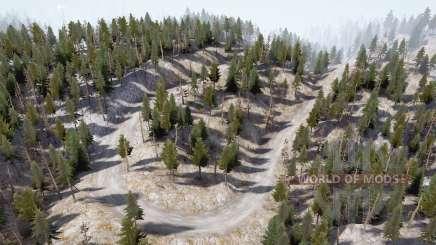 Mountain roads for MudRunner