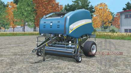 New Holland BigBaler 1290 & Roll-Belt 1ⴝ0 for Farming Simulator 2015