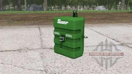 Suer weight ৪00 kg. for Farming Simulator 2015