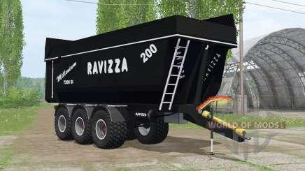 Ravizza Millenium 7200 ꞨI for Farming Simulator 2015