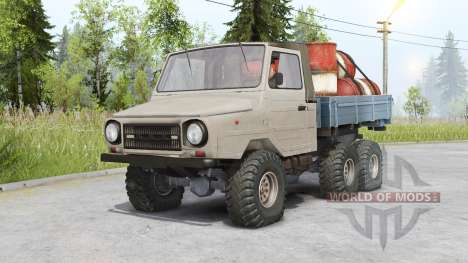 Luaz 13021 6x6 for Spin Tires