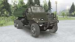 KRAz 256B for Spin Tires