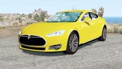 Tesla Model S 2012 for BeamNG Drive