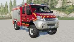 Iveco Daily 4x4 Crew Cab Feuerwehr for Farming Simulator 2017