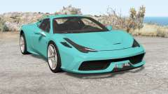Ferrari 458 Speciale 2014 for BeamNG Drive