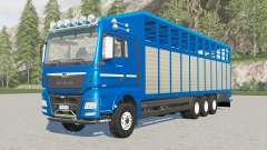 MAN TGX Livestock Truck increased load capacity for Farming Simulator 2017