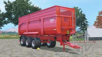 Krampe Big Body 900 Ꞩ for Farming Simulator 2015