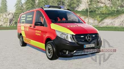 Mercedes-Benz Vito Kastenwagen (W447) Notarzt for Farming Simulator 2017