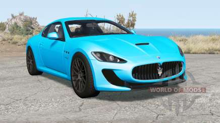 Maserati GranTurismo MC Stradale (M145) 2013 for BeamNG Drive