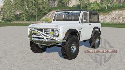 Ford Bronco Sport Wagon 1971 for Farming Simulator 2017