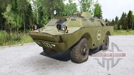 BRDM 2 for MudRunner