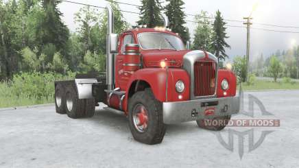 Mack B61 6x6 tractor truck for Spin Tires