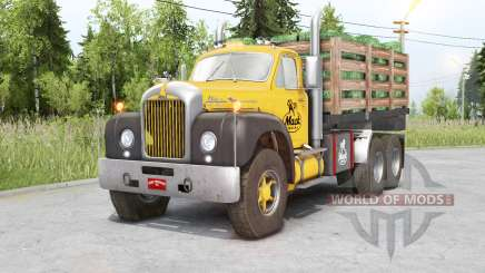 Mack B61 6x6 Chassis Cab for Spin Tires