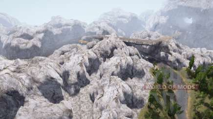 Mammoth Gorge for MudRunner
