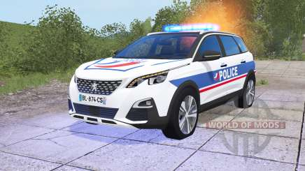 Peugeot 5008 Police National for Farming Simulator 2017