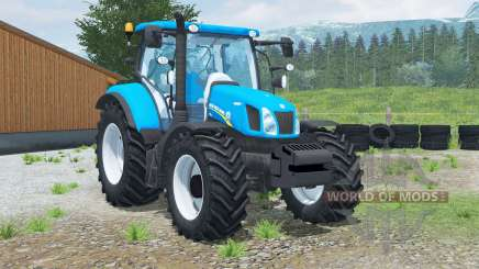 New Holland Ʈ6.160 for Farming Simulator 2013