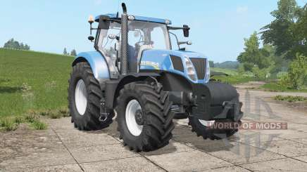 New Holland T7.220-T7.ろ10 for Farming Simulator 2017