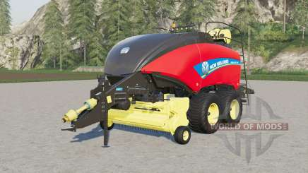 New Holland BigBaler 340 customizable capacity for Farming Simulator 2017