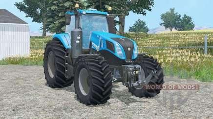 New Hollaɳd T8.320 for Farming Simulator 2015