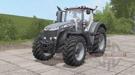 Massey Ferguson 8700 Black Edition for Farming Simulator 2017
