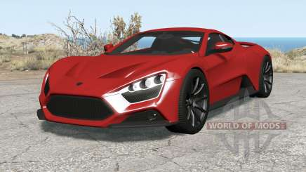 Zenvo ST1 200୨ for BeamNG Drive