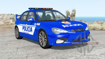 Hirochi Sunburst Fuerzas de Seguridad de Argenti for BeamNG Drive