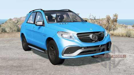 Mercedes-AMG GLE 63 S (W166) 2015 for BeamNG Drive