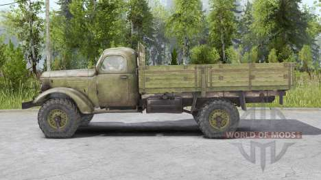 FAW Jiefang CA10 1956 for Spin Tires
