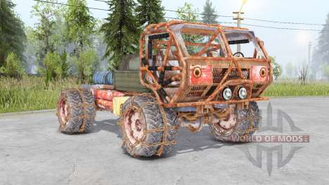 Mongo Heist Truck for Spin Tires