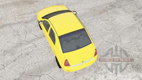 Renault Logan 2010 for BeamNG Drive