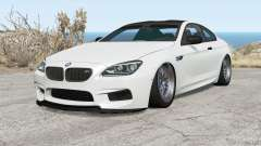 BMW M6 coupe (F13) 2013 for BeamNG Drive