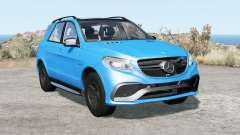 Mercedes-AMG GLE 63 S (W166) 201ⴝ for BeamNG Drive