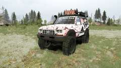 Toyota Land Cruiser Autana (FZJ80G) 1995 for MudRunner