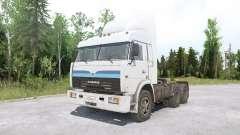 Kamaz 54115 Truckers for MudRunner