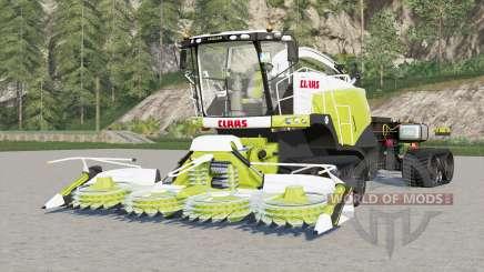 Claas Jaguar 960 TerraTrac hooklift for Farming Simulator 2017