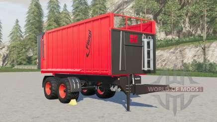 Fliegl TMK 266 Bull capacity selection for Farming Simulator 2017