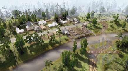 The Red zvezdɑ Forestry for MudRunner
