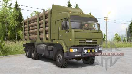 Kamaz-6522ⴝ for Spin Tires