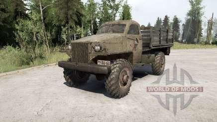 Gaz-63 1943 for MudRunner