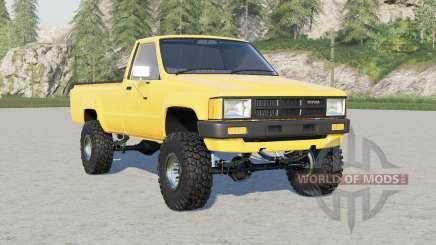 Toyota Hilux Single Cab 4WD 1983 for Farming Simulator 2017