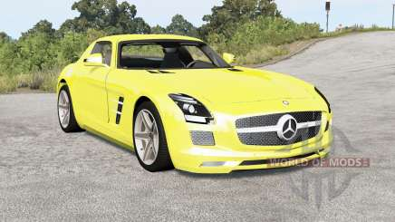 Mercedes-Benz SLS 63 AMG (C197) 2010 for BeamNG Drive