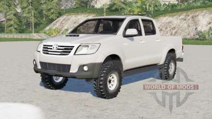 Toyota Hilux Double Cab 2011 for Farming Simulator 2017